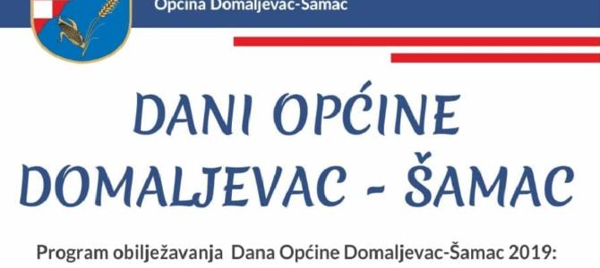 DANI OPĆINE DOMALJEVAC-ŠAMAC