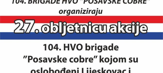 Obilježavanje 27. godišnjice oslobođenja Lijeskovca